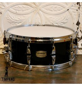 Yamaha Yamaha Absolute Maple Hybrid Solid Black Snare Drum 14X6in