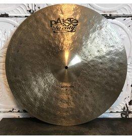 Paiste Cymbale ride usagée Paiste Twenty Masters Dark 22po