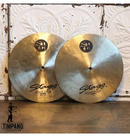 Stagg Used Stagg SH Medium H-hat Cymbals 14in