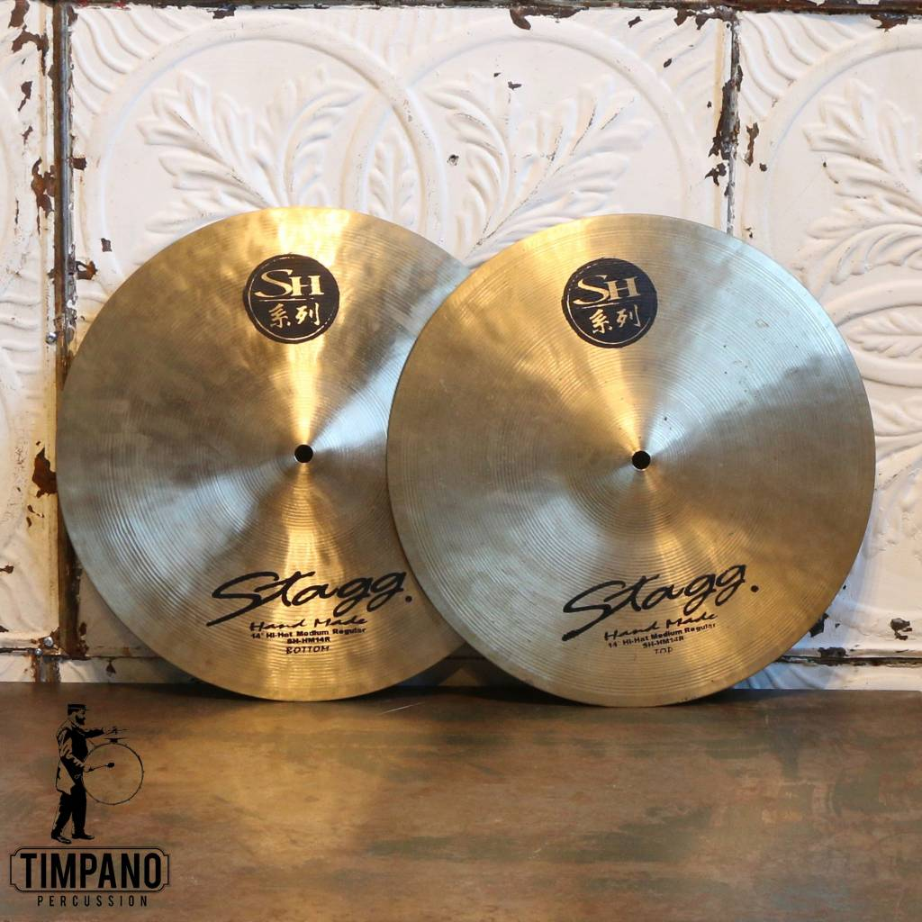 Stagg Cymbales hi-hat usagées Stagg SH Medium 14po