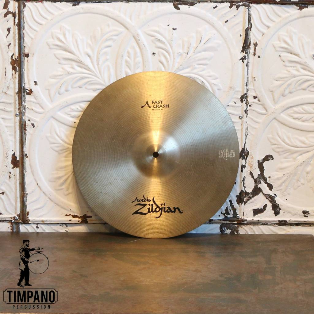 Zildjian Used Zildjian A Fast Crash Cymbal 14in