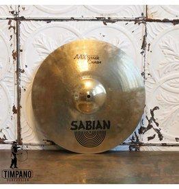 Sabian Cymbale crash usagée Sabian AAX Stage 17po