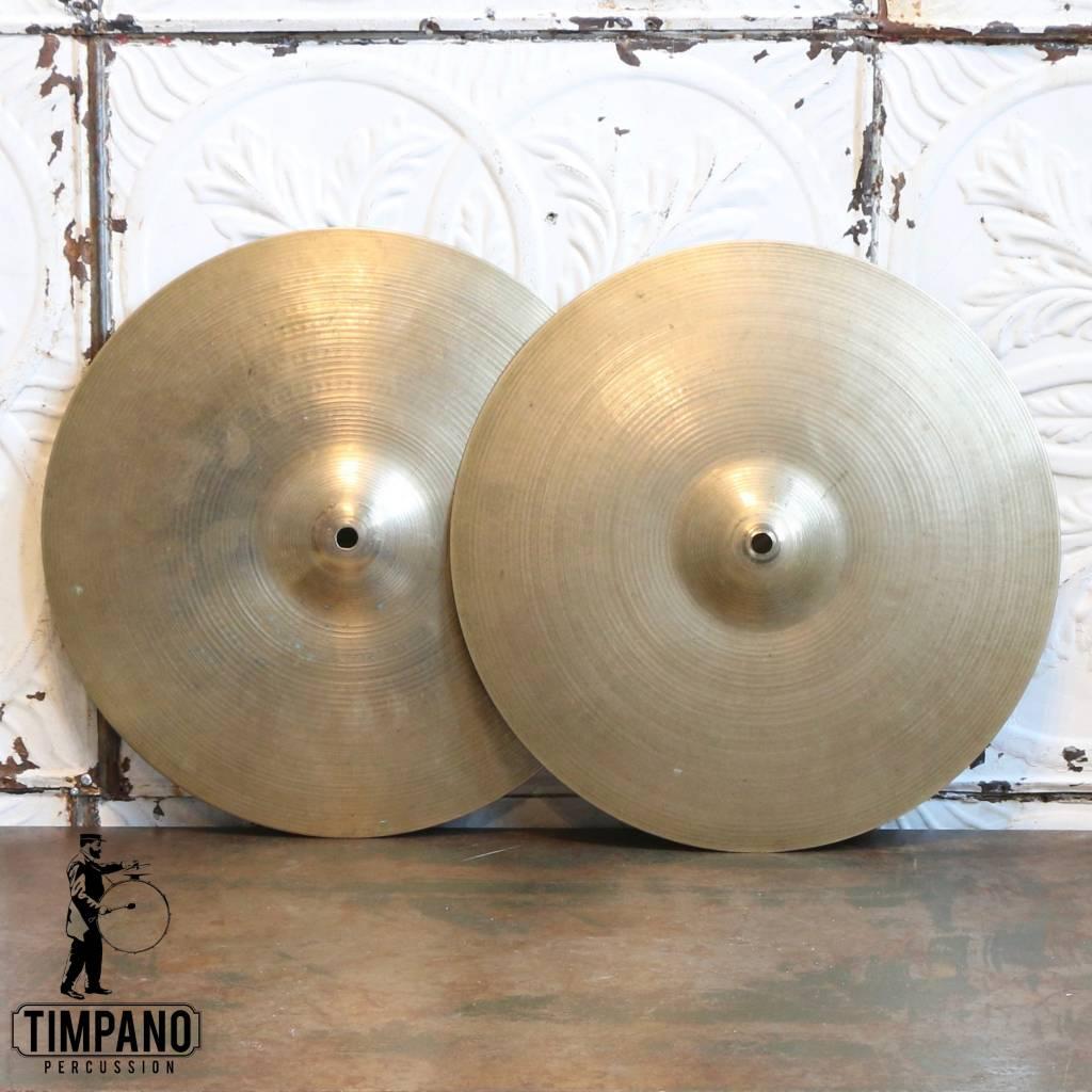Zildjian Cymbales hi-hat usagées Zildjian Avedis 15po