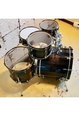 Yamaha Batterie Yamaha Live Oak Black Shadow Sunburst 22-10-12-16po avec caisse claire 14x5.5po
