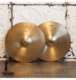 Paiste Cymbales hi-hat usagées Paiste 404 14po