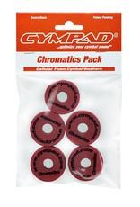 Cympad Chromatics 40/15mm Crimson Crash Felts (pack of 5)
