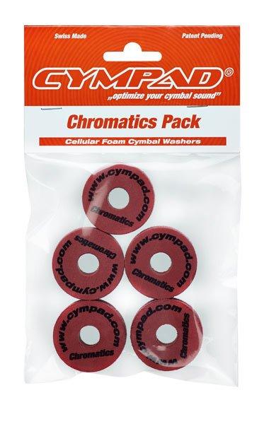 CYMPAD Cympad Chromatics 40/15mm Crimson Crash Felts (pack of 5)