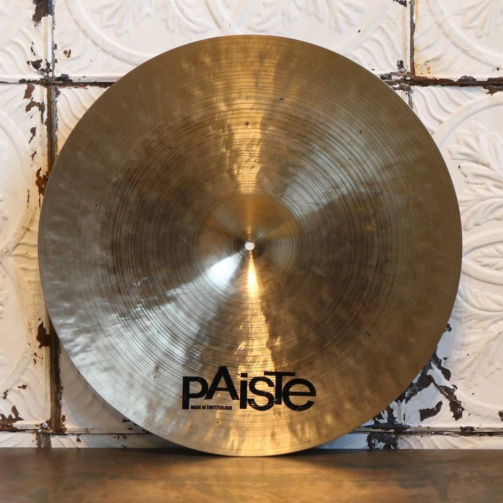 Paiste Cymbale ride usagée Paiste Masters Dark Crisp 22po