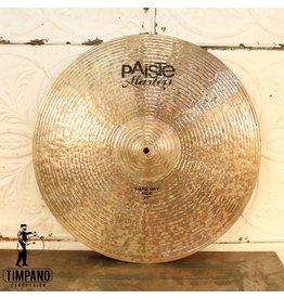 Paiste Paiste Masters Dark Dry Ride Cymbal 21in