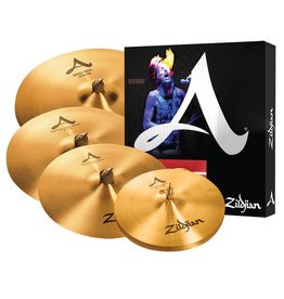 Zildjian Ensemble de cymbales Zildjian A 14HH-16-21po + crash 18po gratuite