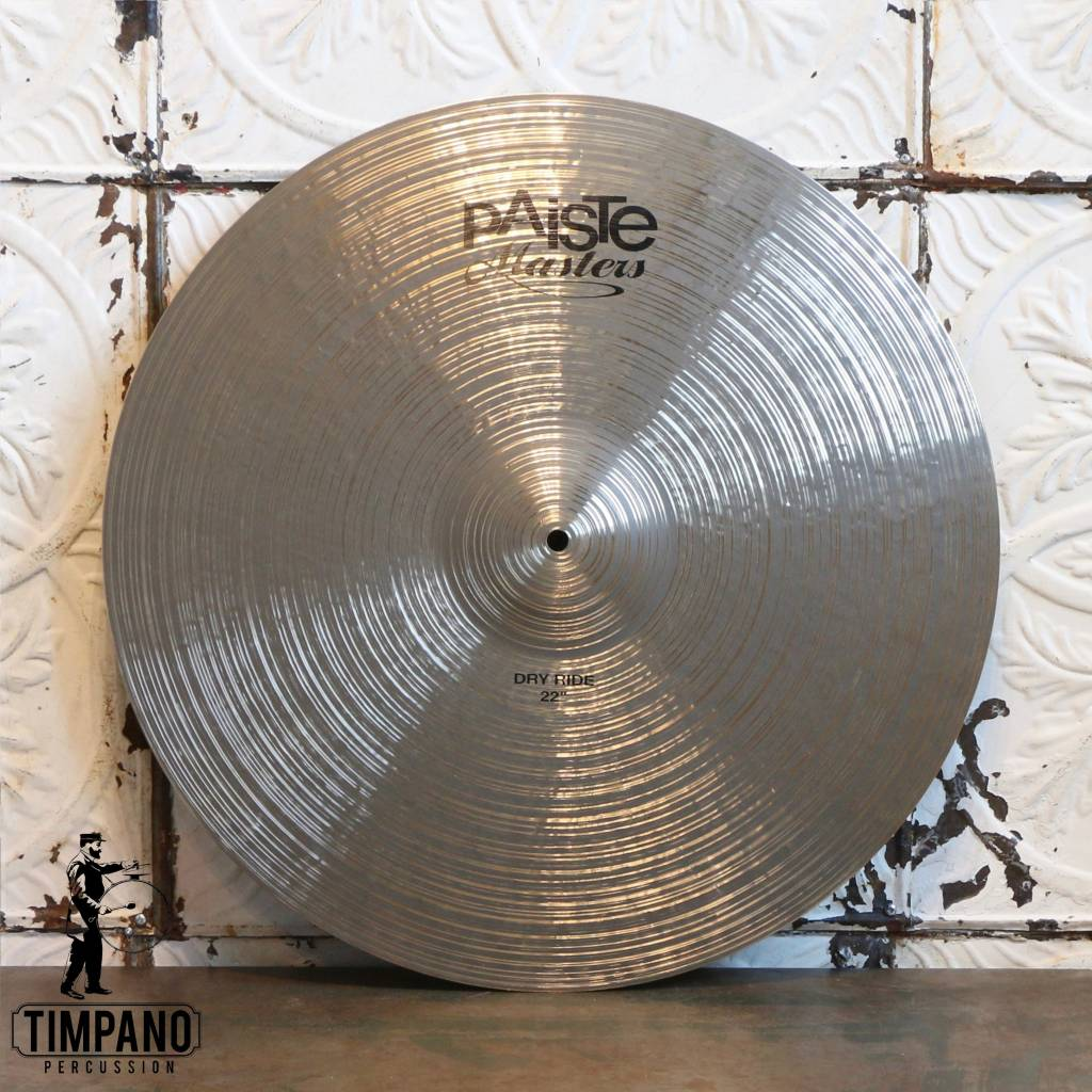 Paiste Paiste Masters Dry Ride Cymbal 22in