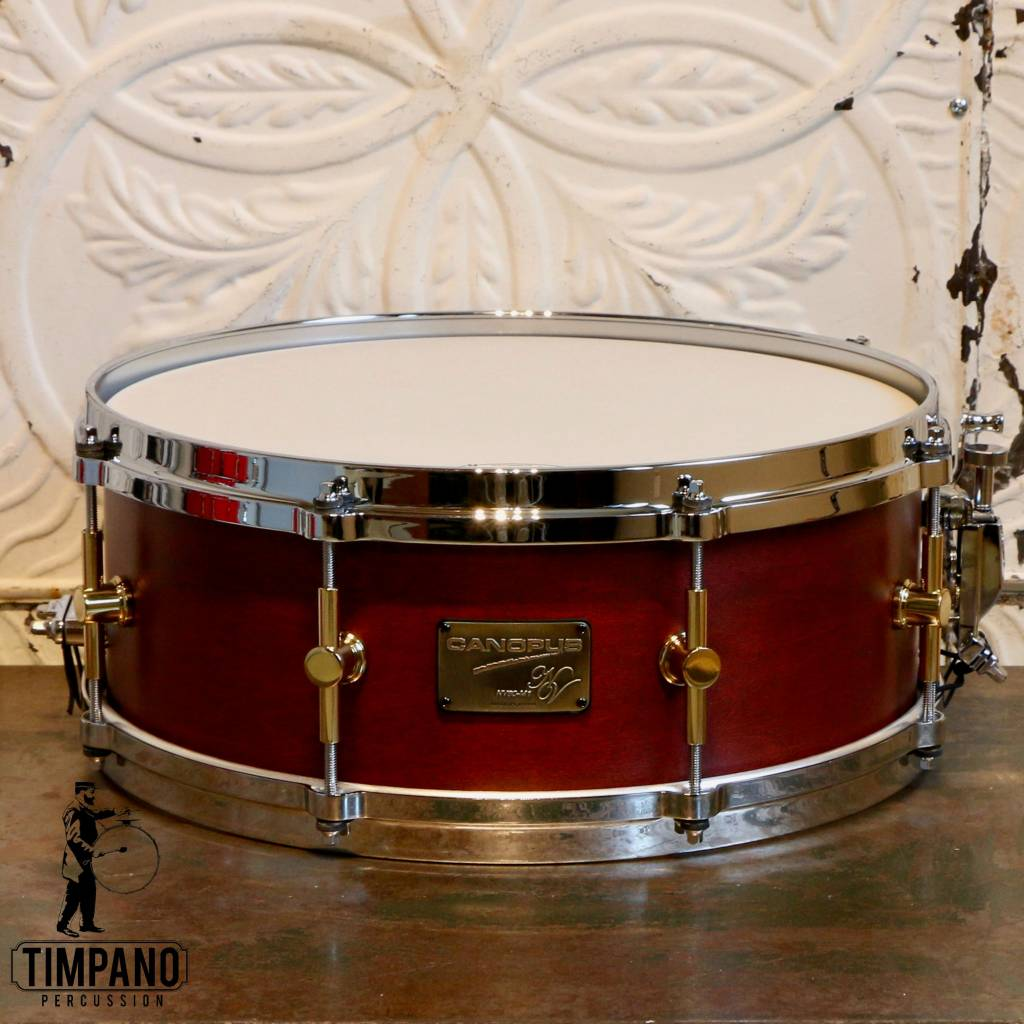 Canopus Canopus Neo Vintage NV60-M1 érable/peuplier Walnut Oil Snare Drum 14X5.5in