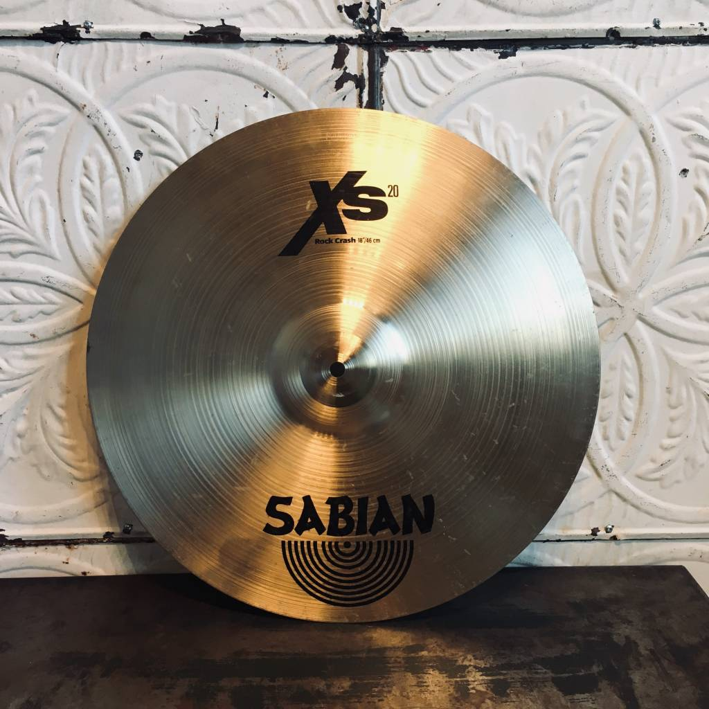 Sabian Cymbale usagée Sabian XS20 Rock Crash 18po