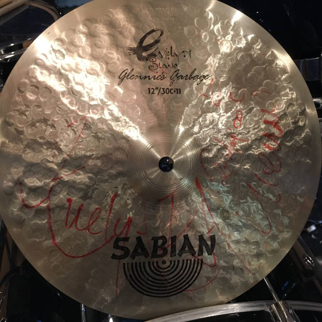 Sabian Used Sabian Glennie's Garbage 12in
