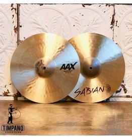 Sabian Cymbales hi-hat Sabian AAX Medium 14po