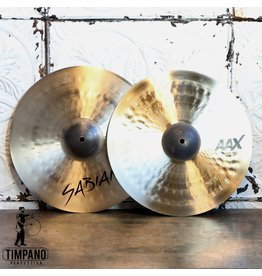 Sabian Sabian AAX Medium hi-hat Cymbals 15in