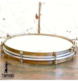 A&F Drum Co A&F Pancake Steel Snare Drum 14X1.5in
