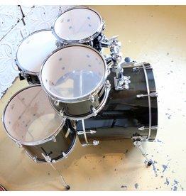 Yamaha Yamaha Stage Custom Raven Black Drum Kit 20-10-12-14in + 14in snare & HW680W