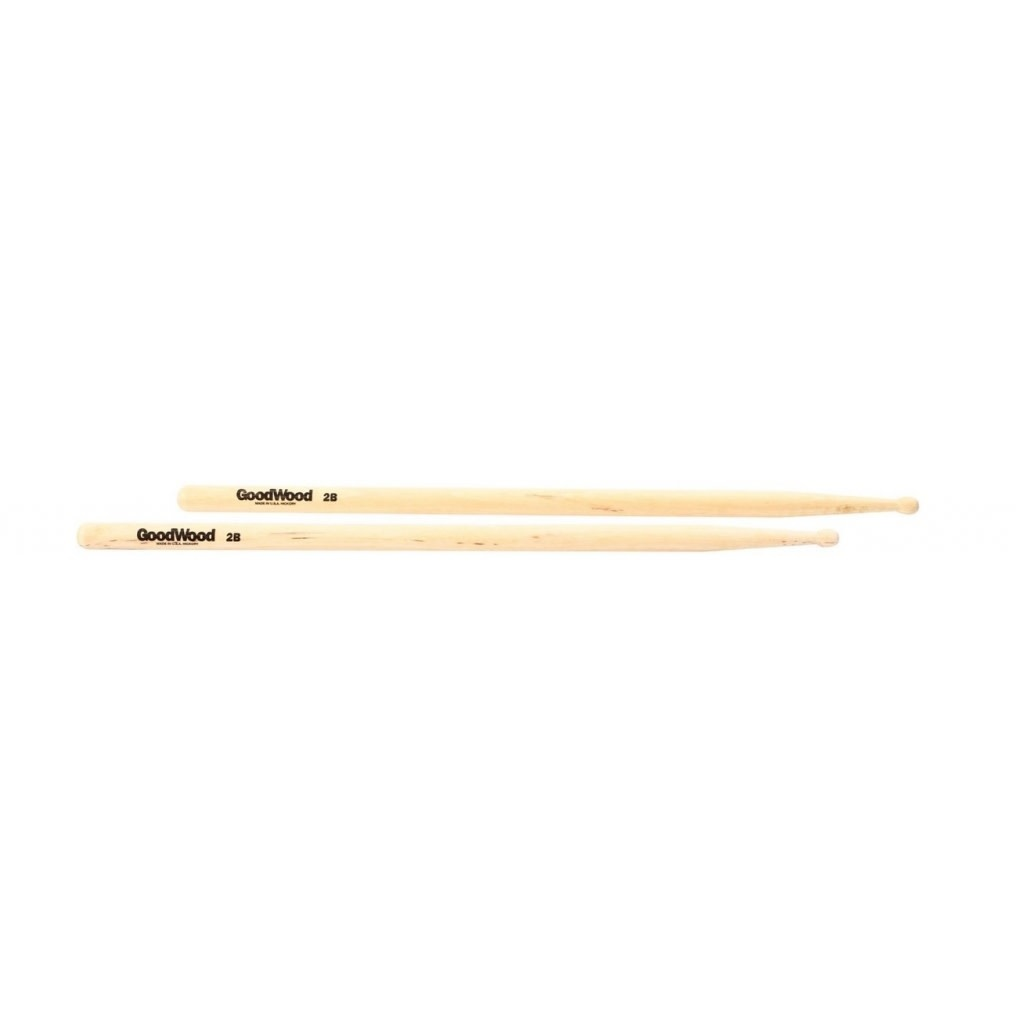 Vater GOODWOOD 2b Wood Tip Drum Sticks
