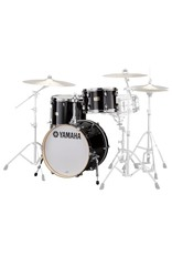 Yamaha Yamaha Stage Custom Drum Set 18-12-14 with Tom Holder Raven Black