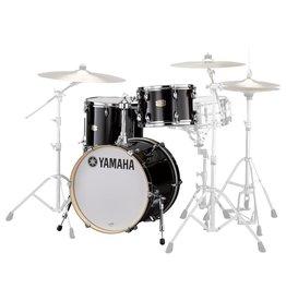 Yamaha Yamaha Stage Custom Drum Set 18-12-14 with Tom Holder Raven Black