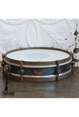 A&F Drum Co A&F Rude Boy Raw Steel Snare Drum 13X3in