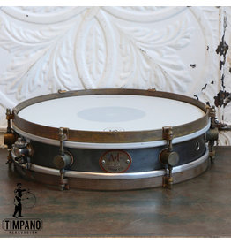 A&F Drum Co Caisse claire A&F Rude Boy Raw Steel 13X3po