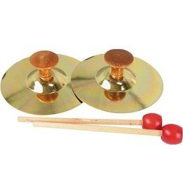 Hohner Paire de cymbales Hohner 5po avec maillet