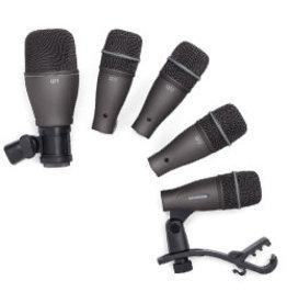 Samson Ensemble de microphones (5) de batterie Samson DK705