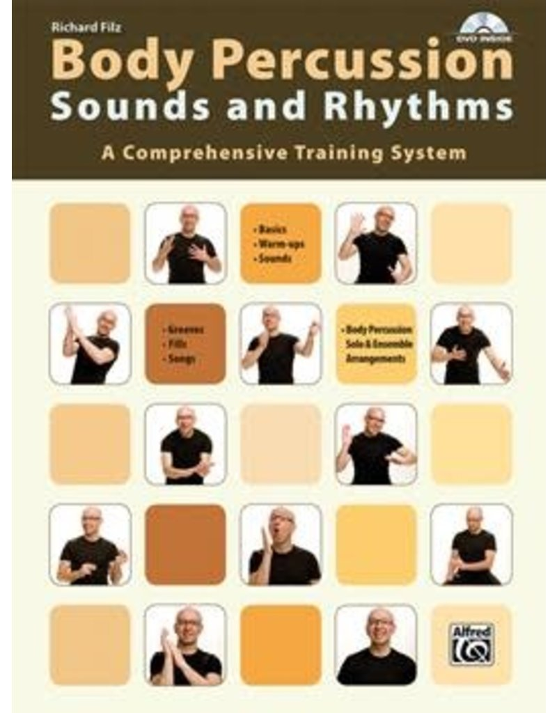 Alfred Music Body Percussion: Sounds and Rhythms - Richard Filz