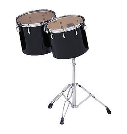Pearl Set of 2 Pearl Concert Toms 13 and 14in with stand