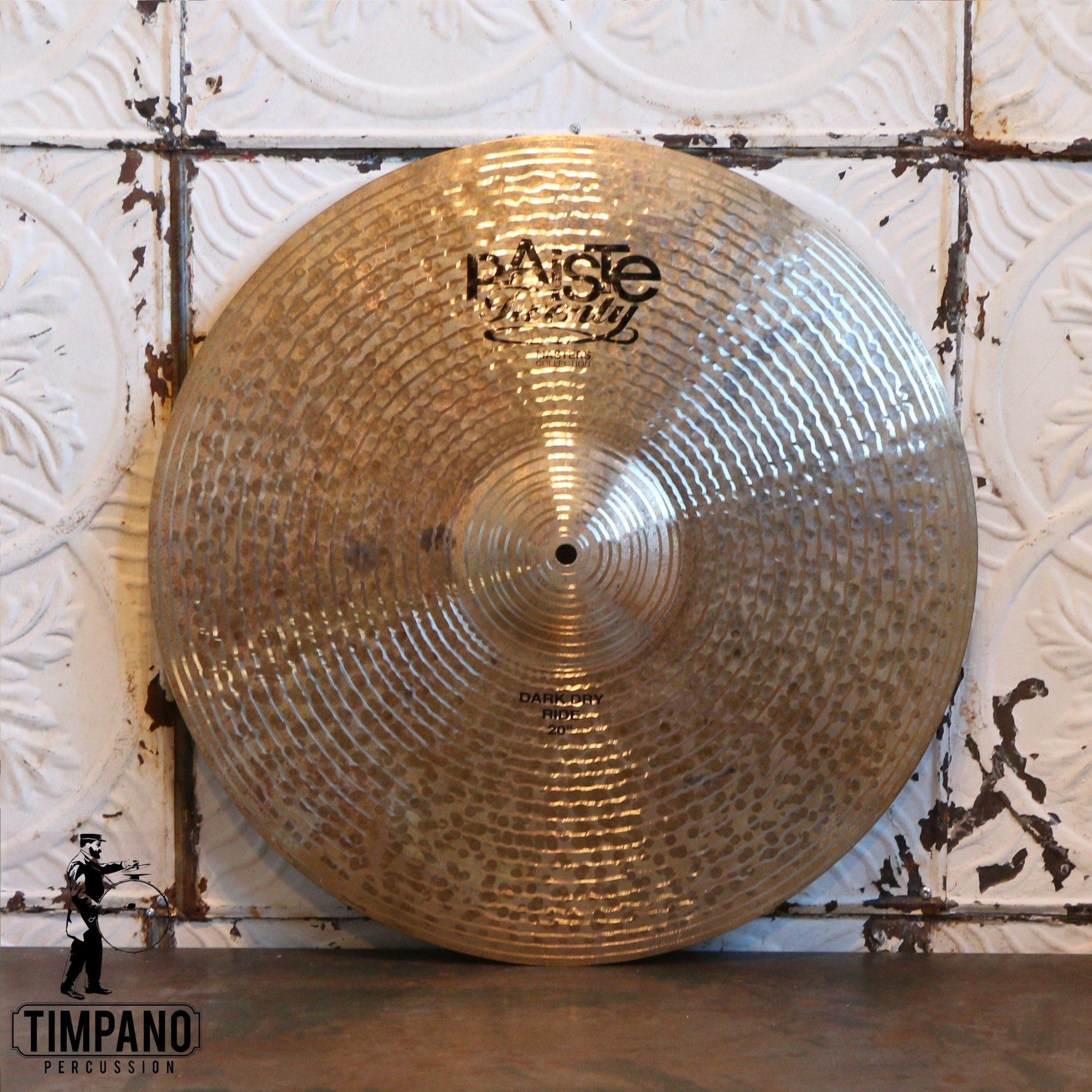 Paiste Cymbale ride Paiste Masters Dark Dry 20po (demo)