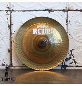 Paiste Cymbale chinoise Paiste Rude 18po