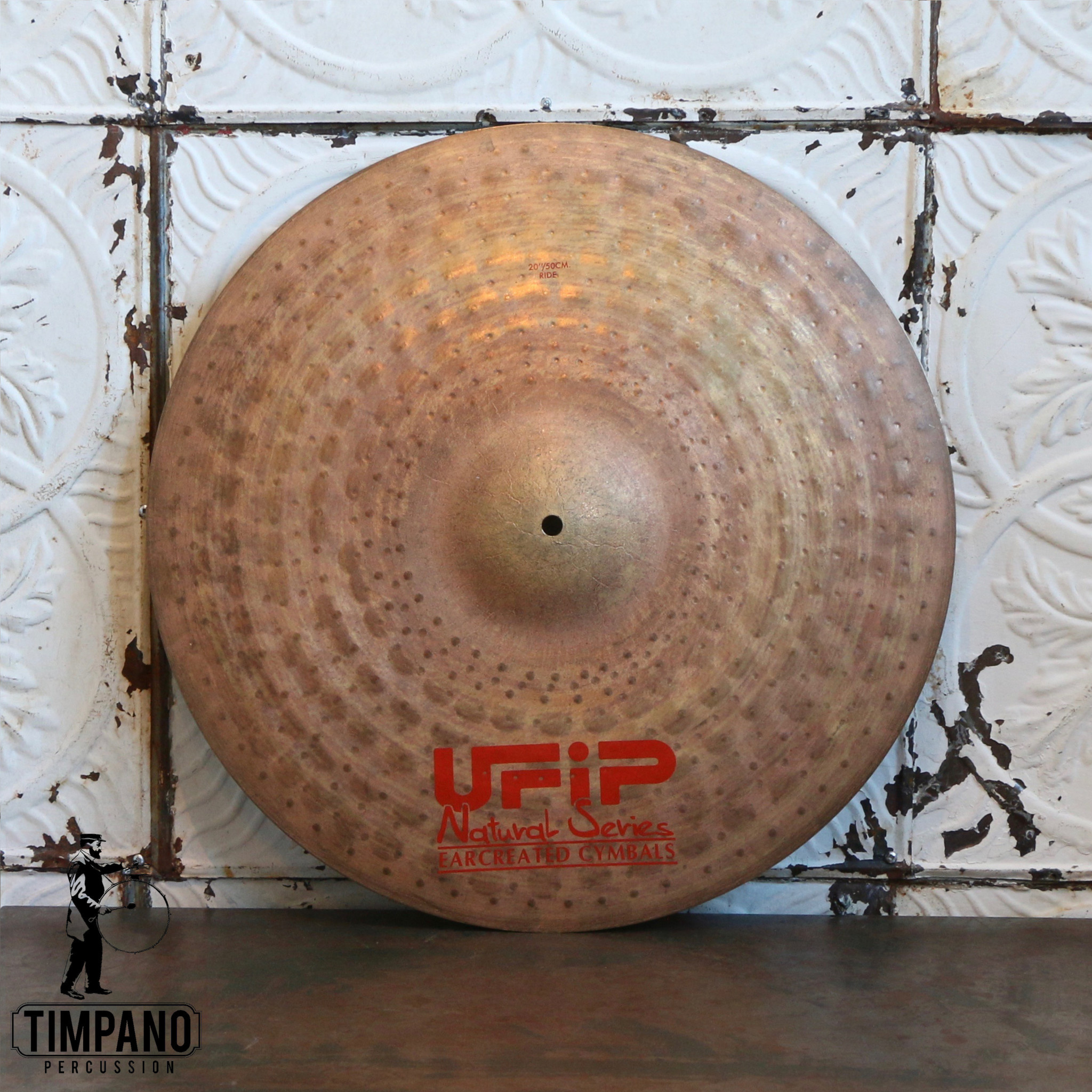 U-FIP UfiP Natural Medium Ride Cymbal 20in