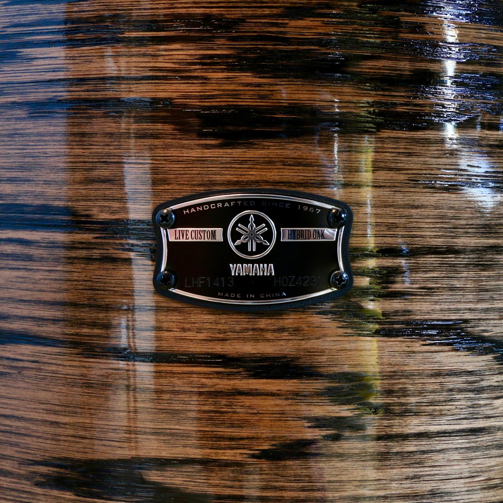 Yamaha Batterie Yamaha Live Custom Hybrid Oak Uzu Natural 20-10-12-14po
