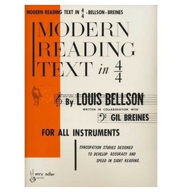 Alfred Music Modern Reading Text in 4/4 Method