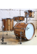 Gretsch Gretsch USA Custom Exotic Red Gum Limited Edition Drum Kit 18-12-14in + 14X5in snare