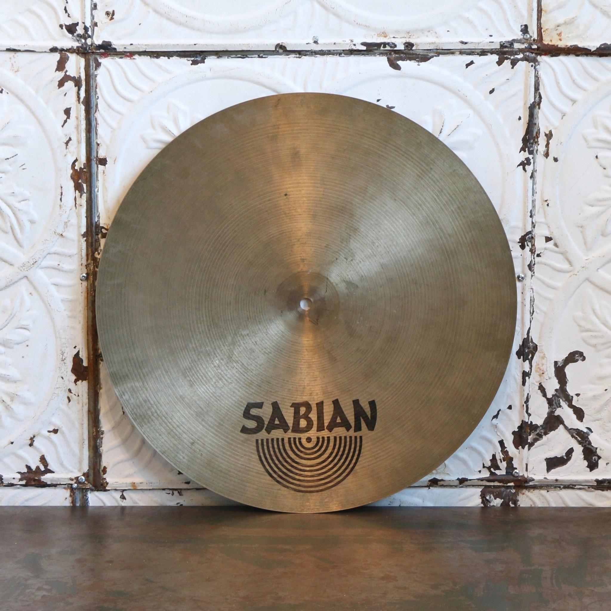 Sabian Cymbale ride usagée Sabian HH flat 18po
