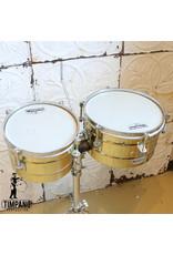 Latin Percussion Timbales latines usagée LP Matador mini 10-12po + pied