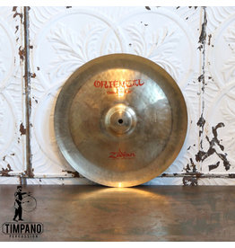 Zildjian Cymbale chinoise usagée Zildjian Oriental Trash 14po