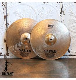 Sabian Used Sabian B8X Hi-hat Cymbals 14in