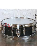 Gretsch Caisse claire usagée Gretsch USA Custom Nitron Black Glass 14x5.5po