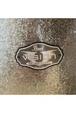 Pearl Used Drumkit Pearl Vision All Birch Silver Sparkle 22-10-12-16 with tom holder