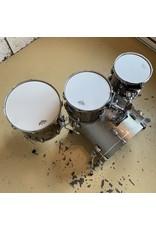Pearl Batterie usagée Pearl Vision en bouleau en silver sparkle 22-10-12-16 avec tom holder