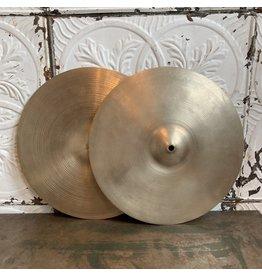 Cymbales hi-hat usagées Zildjian Avedis 70s Bottom avec Crash Avedis 50s Top