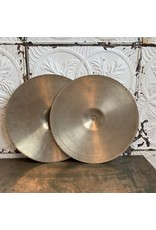 Cymbales hi-hat usagées Zildjian Avedis 70s bottom avec Crash Avedis 50s top