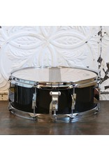 Canopus Canopus YAIBA Maple Ebony Black Lacquer Snare Drum 14X5.5in