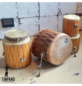 Used Taos Drums 5-piece Drum Kit (natural skins)