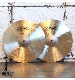 Zildjian Cymbales hi-hat prototype Zildjian K Cluster Top/K Sweet Bottom 15po