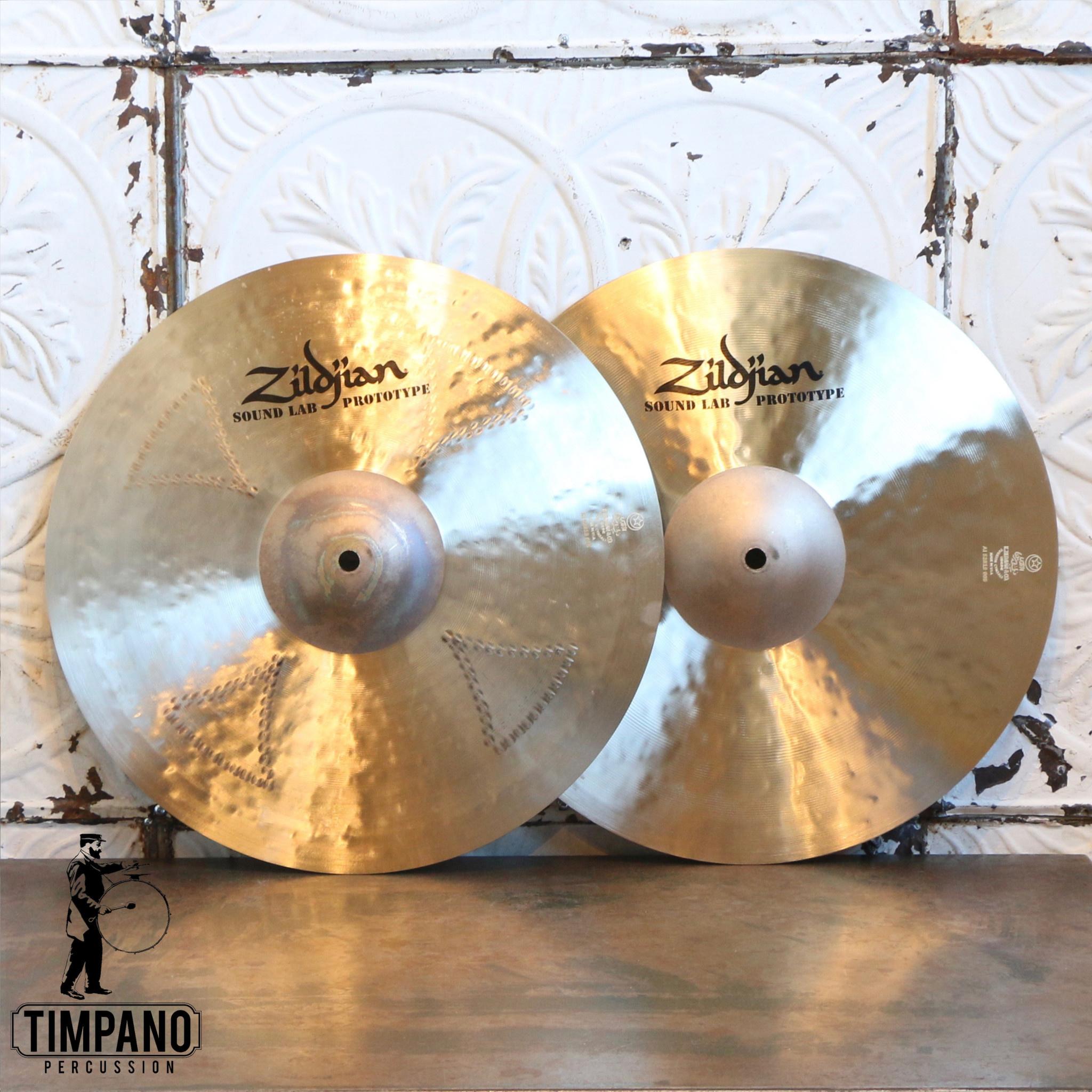 "Zildjian Zildjian 15"" hi hat K Cluster Top/K Sweet Bottom Prototype"
